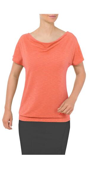 VAUDE Skomer - Camiseta manga corta Mujer - naranja